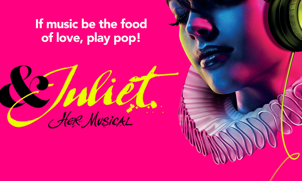 The song list for Max Martin musical & Juliet is EXCEPTIONAL