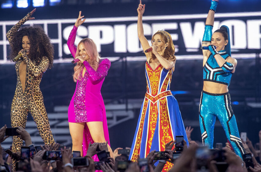 We could well be hearing from the Spice Girls this year